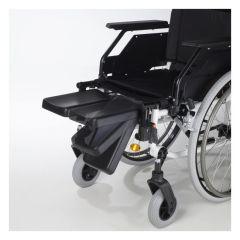 Reposapiés elevables amputados sillas Caneo